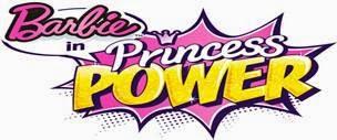 Barbie is starring in Princess Power!