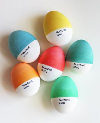 Huevos pantone