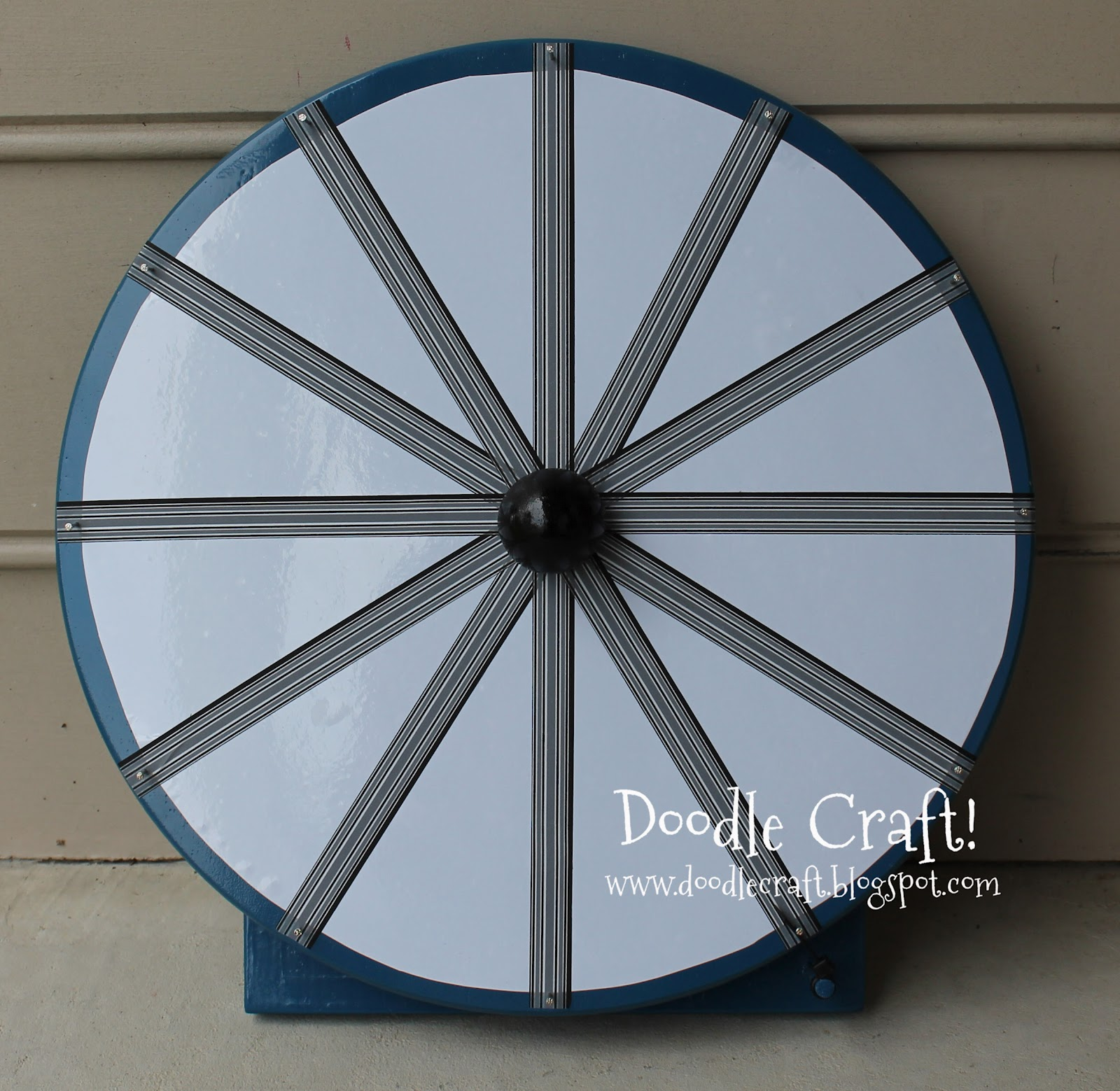 how to make a wheel of fortune wheel spinner