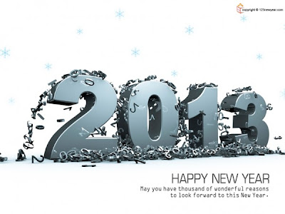 New Year Best Wishes 2013 Wallpapers