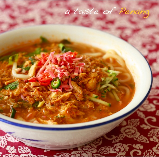 penang homemade assam laksa recipe