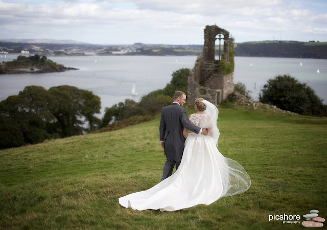 Mount Edgcumbe wedding photography cornwall wedding Picshore Photography