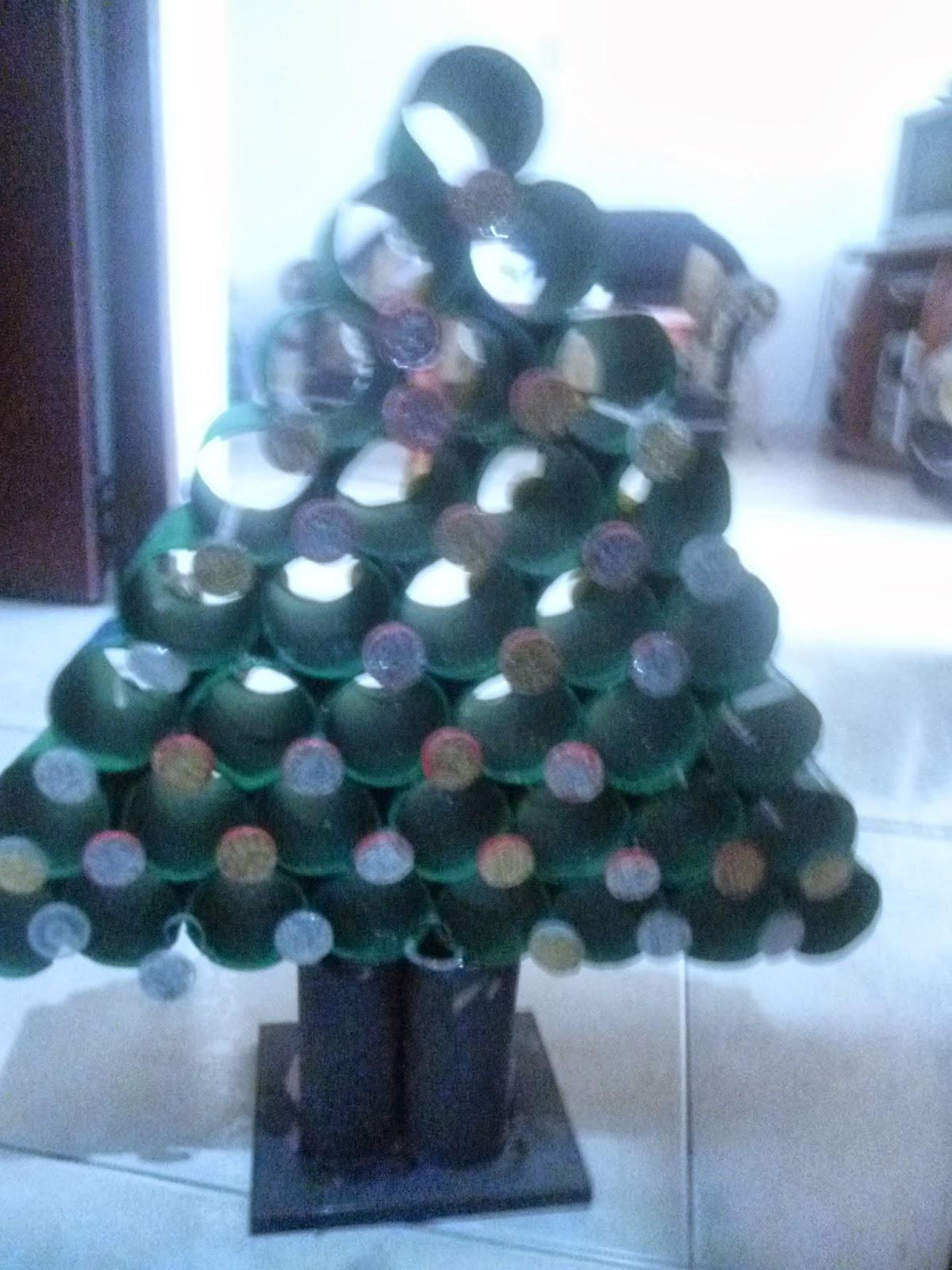 Arbol de navidad con tubos de carton arbol de navidad con - Como hacer un arbol de navidad de carton ...