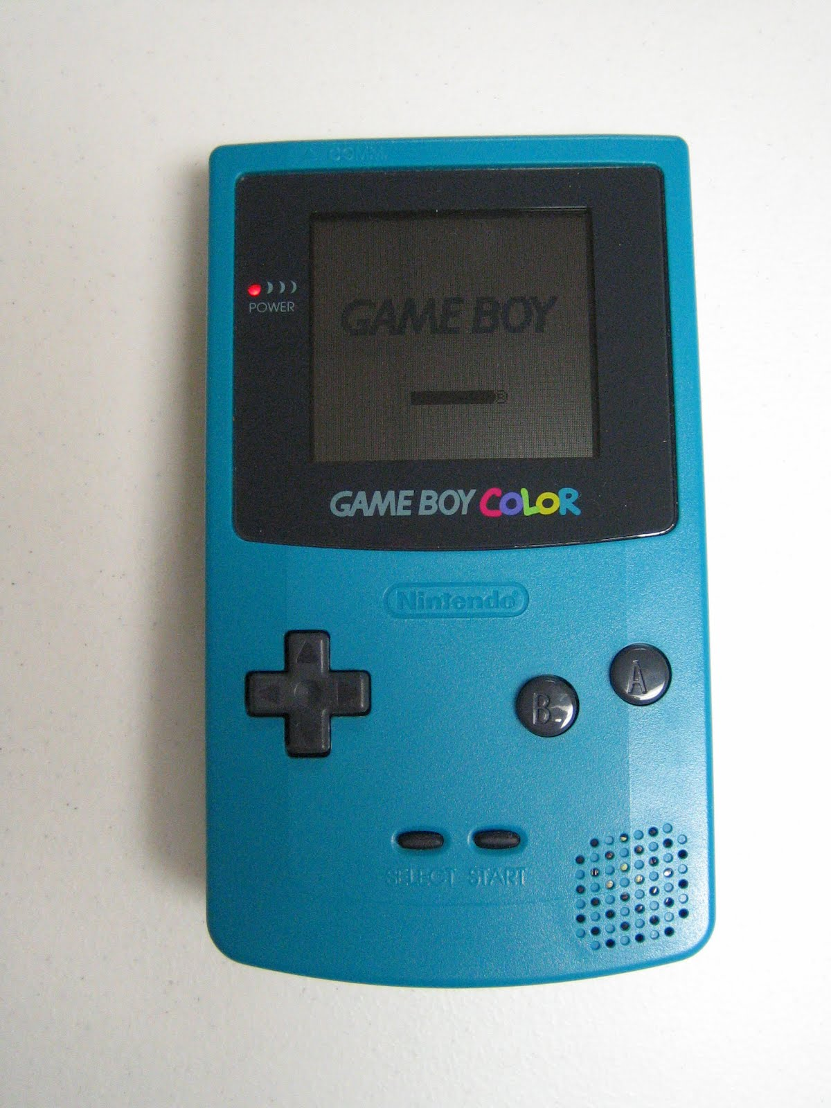 Hyrule Trading Company Game Boy Color Teal Gameboy Color