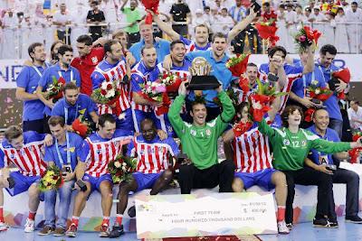 BALONMANO-Atlético de Madrid campeón de la SuperGlobe