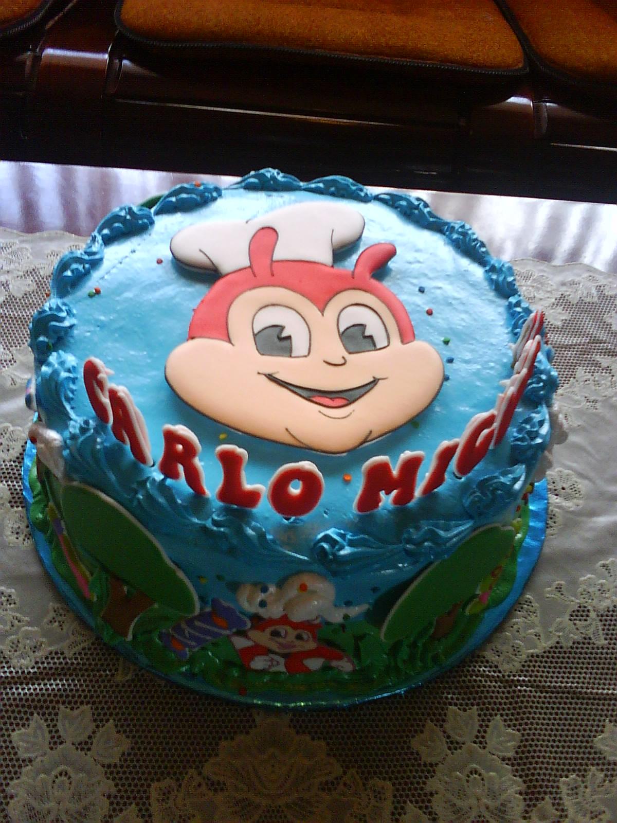 Arcenos Playground Migis Jollibee Birthday Cake