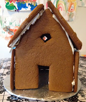 gingerbread house, Christmas, craft, Christmas baking