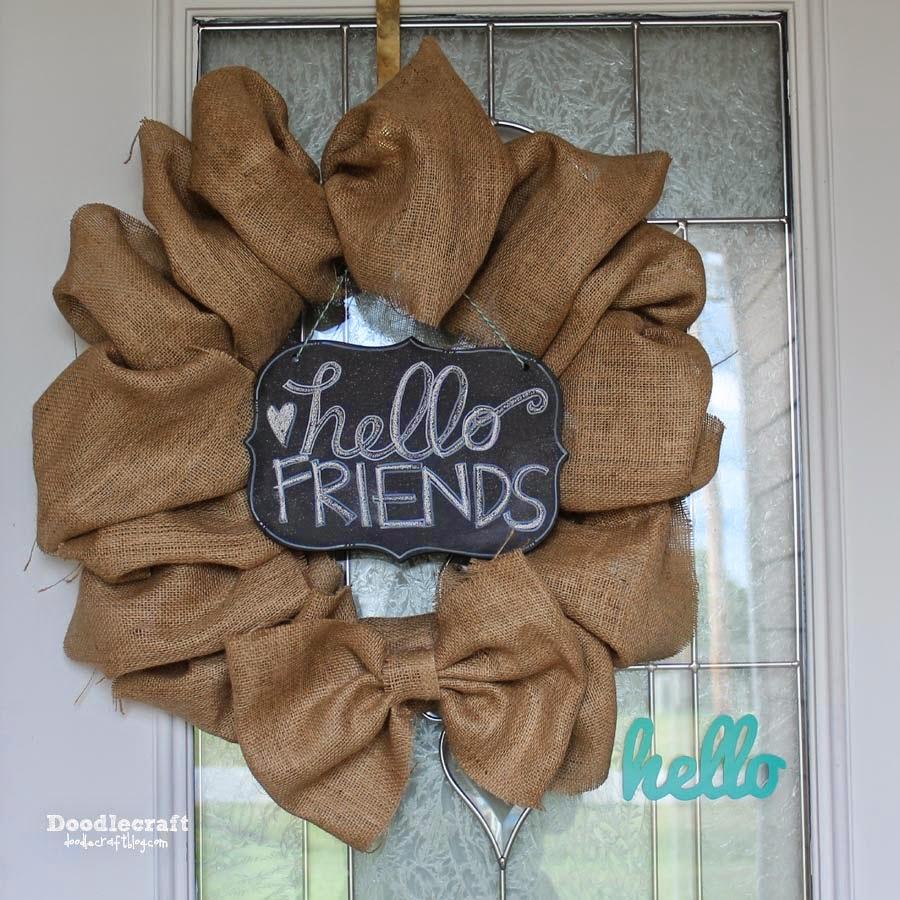 http://www.doodlecraftblog.com/2014/07/hello-friends-chalkboard-greeting-sign.html