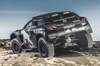 Peugeot 2008 DKR16 Rear Side