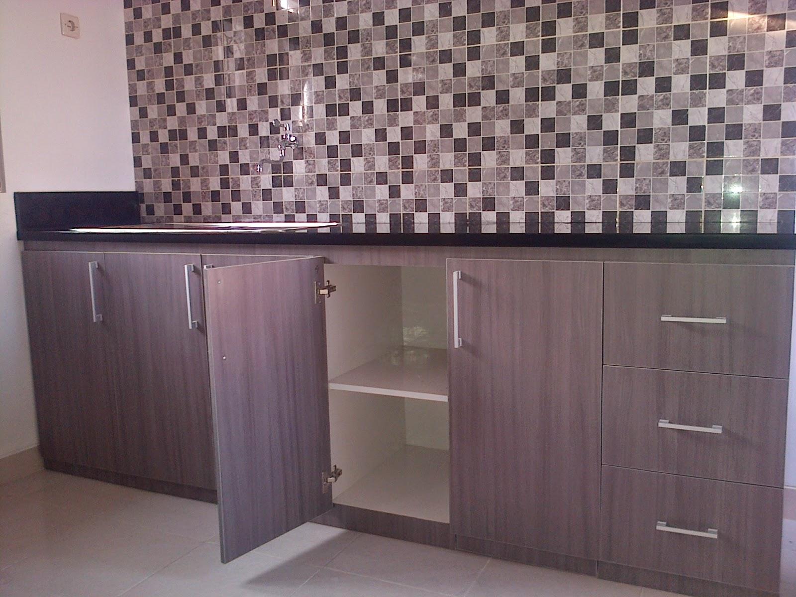 Kitchen Set Minimalis Finising Hpl Plus Granit De Art Jogja