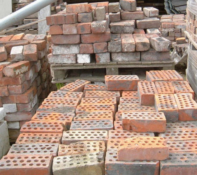 Recycled building material suppliers and second hand Bricks sydney