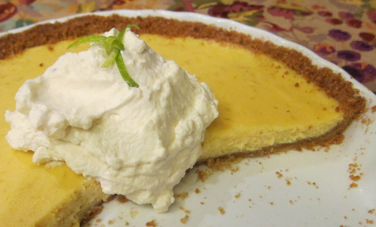 School Diaries: Creamy Lime Ricotta Tart with a Gingersnap Crust ...