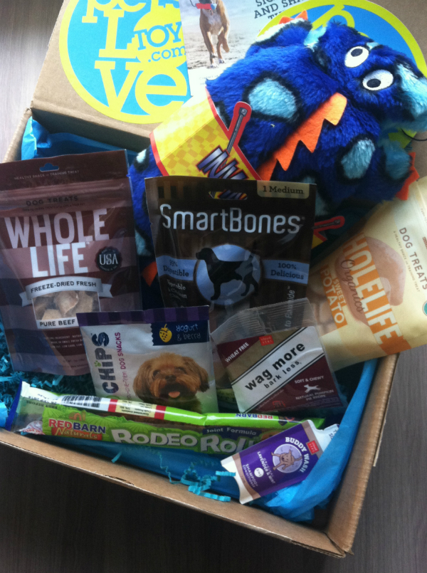 Pets Love Toys - November 2012 Review - Monthly Dog Subscription Boxes