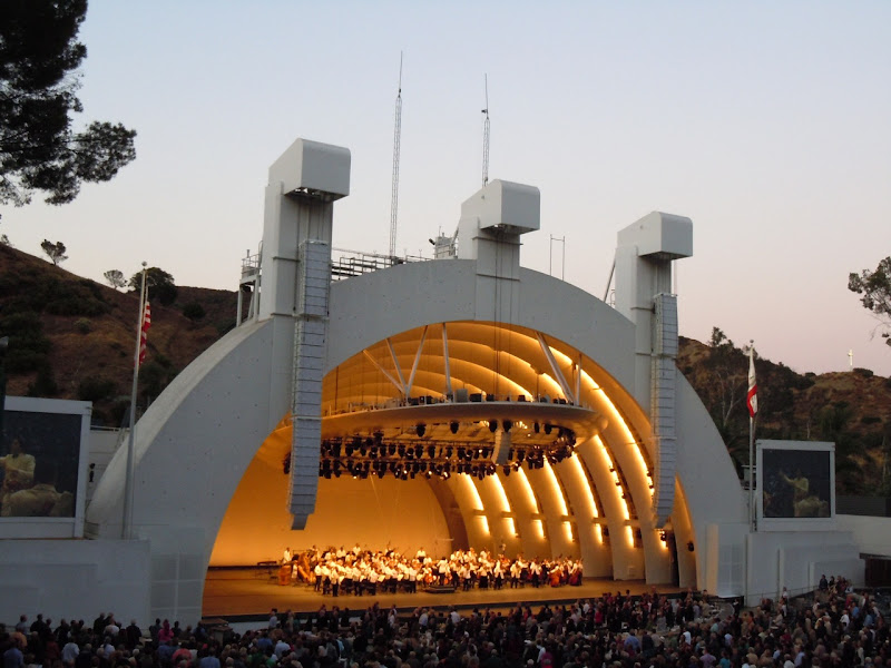 Dudamel conducts Hollywood Bowl