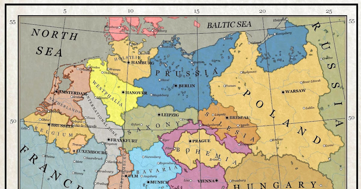 Alternate History Weekly Update: Map Monday: Central Europe, 1918 by ...