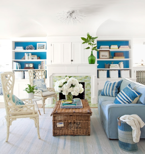 painted bookcase backs