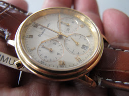 BLANCPAIN VILLERET SPLIT SECOND CHRONOGRAPH - 18K ALL GOLD - AUTOMATIC