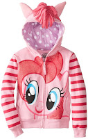 My Little Pony Girls' Pinkie Pie Hoodie