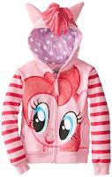 My Little Pony Girls' Pinkie Pie Hoodie