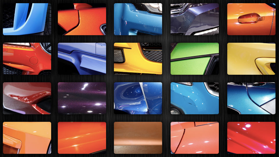 The 2012 Top Vehicle Colors