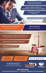 Instituto de Ensino e Pesquisa VALOR HUMANO que oferece cursos de pós com excelente qualidade.