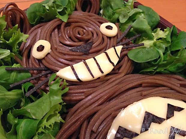 Soba Totoro Bento (Charaben) - Food Art