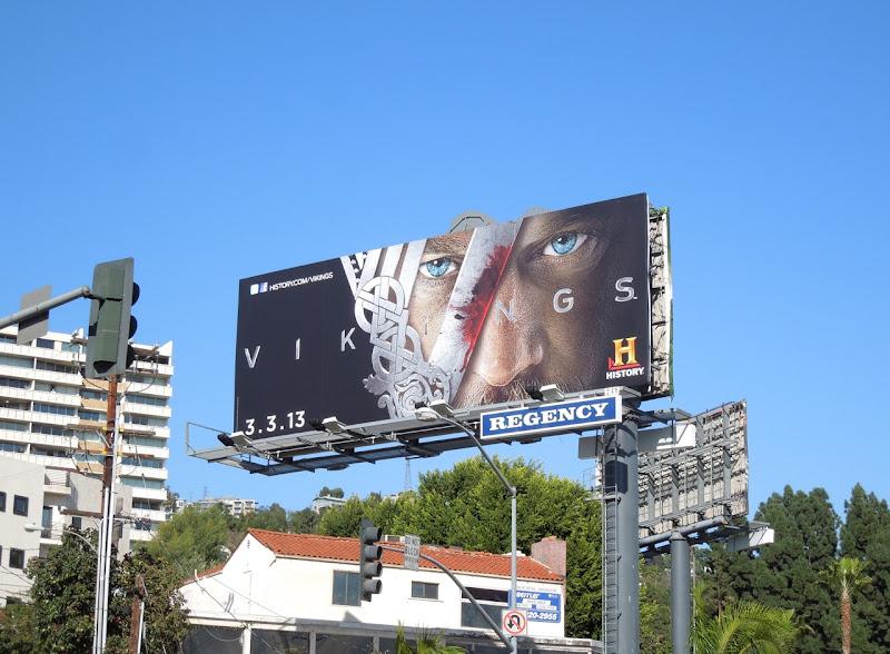 Vikings season 1 billboard