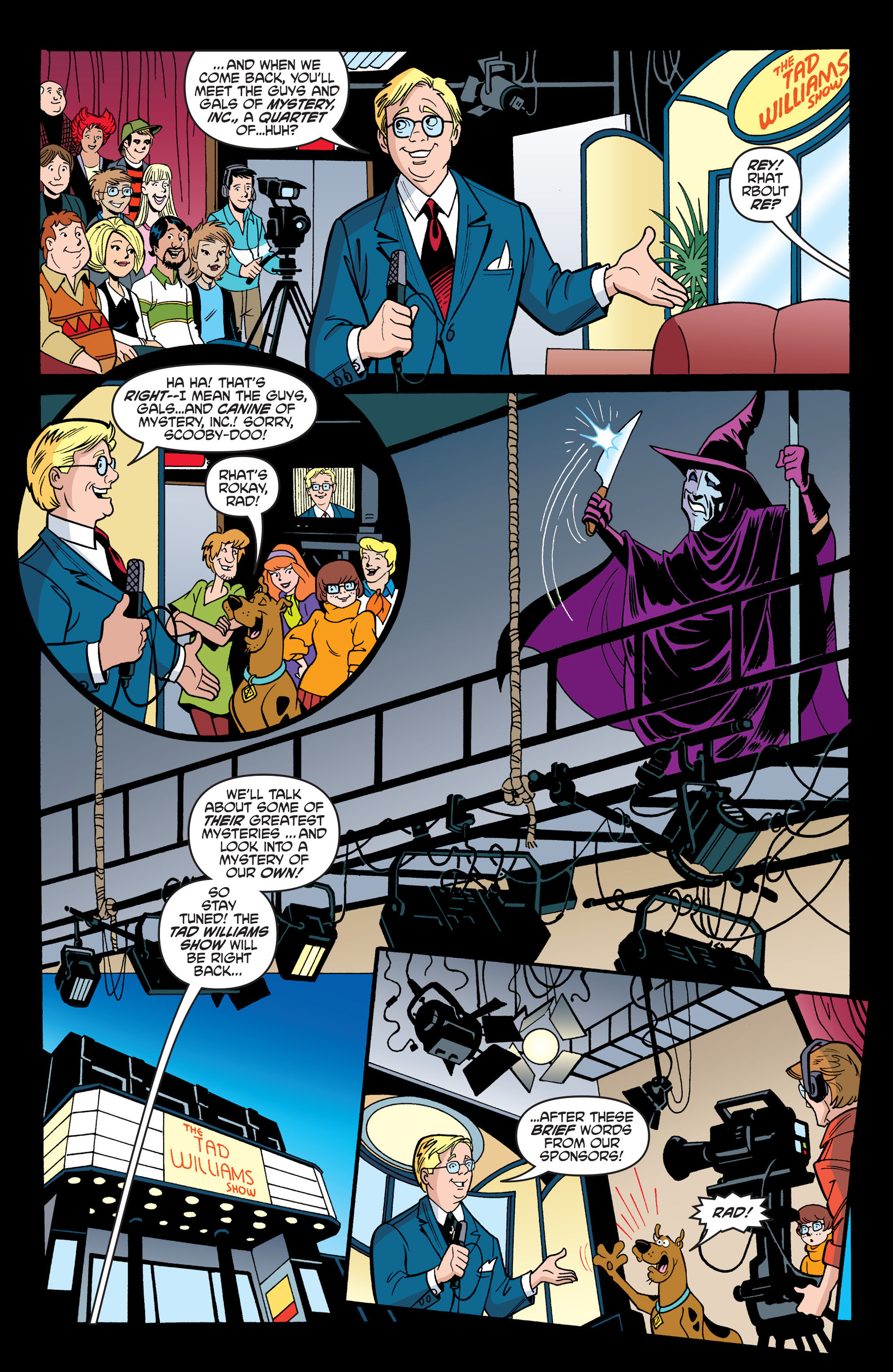 Read online Scooby-Doo: Where Are You? comic -  Issue #44 - 12