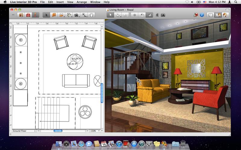 Dise o de interiores live interior 3d pro subcutaneo for Software diseno interiores