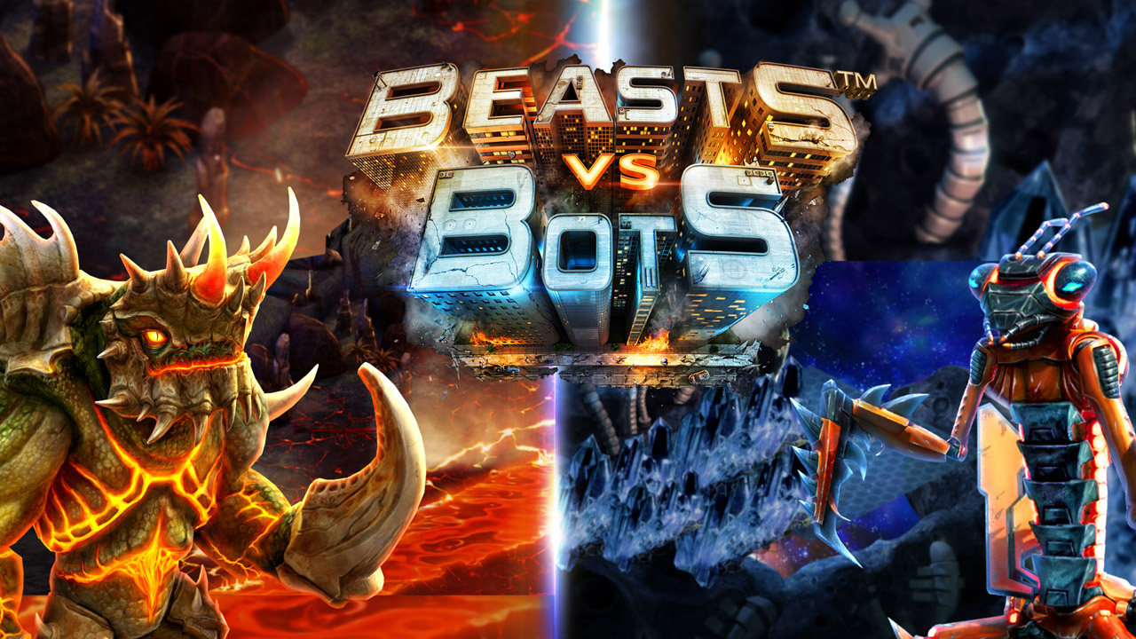 Beasts vs Bots Gameplay IOS / Android