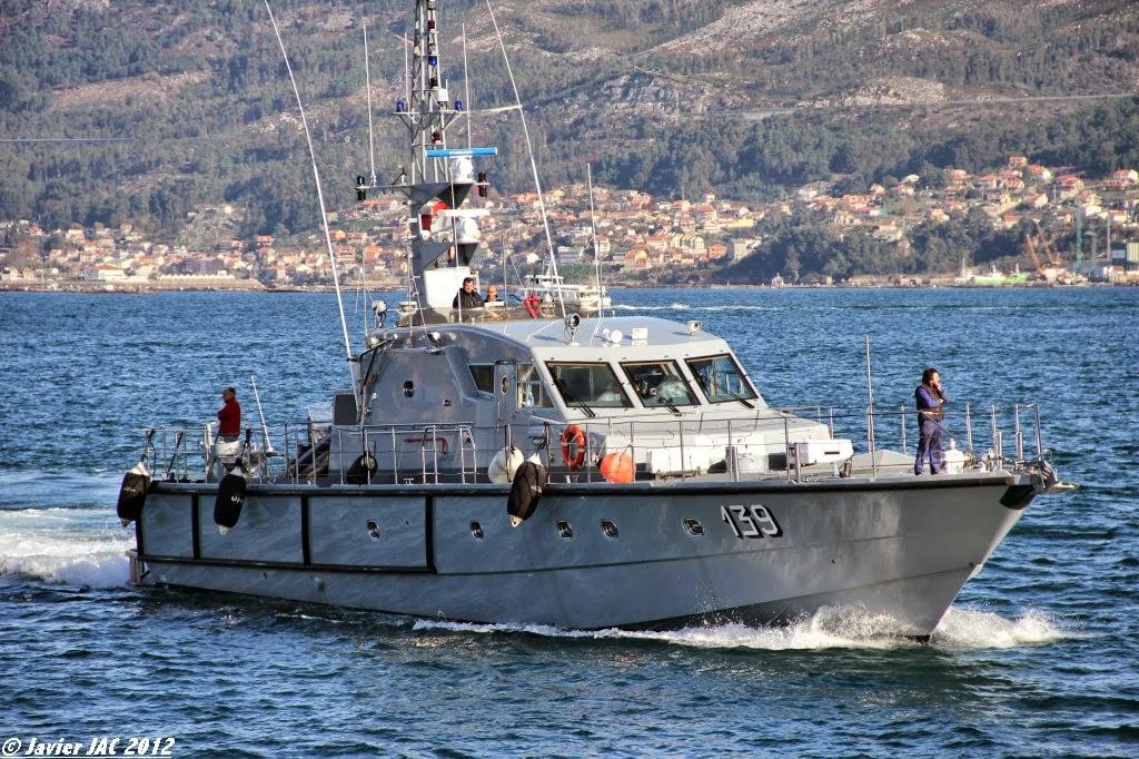 Moroccan Law Enforcement & Cost Guard Fleet / Vedettes de Surveillance et les Gardes des Côtes - Page 5 Clase+Rodman-101+P-139+(2)
