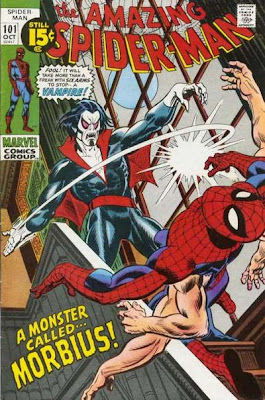 Amazing Spider-Man #101, Morbius and the six-armed Spider-Man