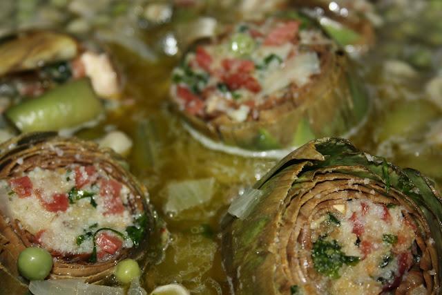 Cocinateca alcauciles o alcachofas con ch charos o for Como se cocinan las habas