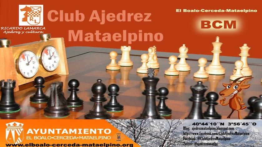 Ajedrez Mataelpino