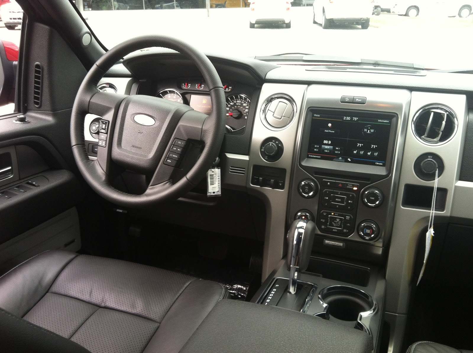 2013 ford f 150 interior accessories