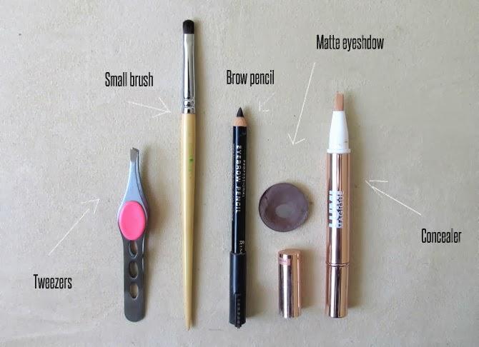 My Eyebrow Essentials Makeup And Macaroons