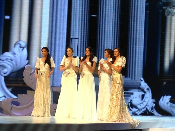 Miss Resorts World Manila 2012 Top 5 Finalists