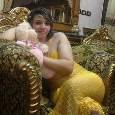 أجدد صور بنات 2014 : بنت بلباس البيت مثير اصفر