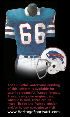 Buffalo Bills 1975 uniform