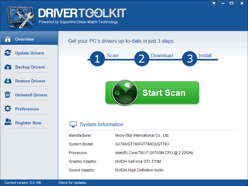 Driver toolkit 8.3 License key and crack