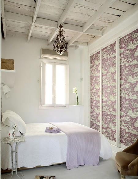 Cosas de palmichula forrar muebles con papel pintado - Papel pintado armario ...