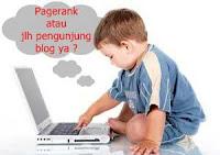 pagerank, pengunjung blog