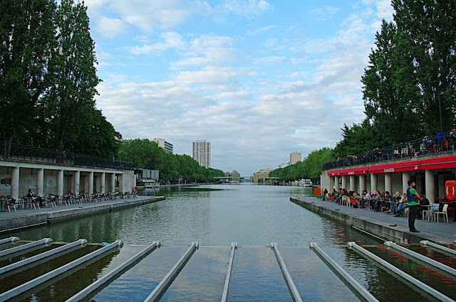 Bassin de la Villette poze frumoase Paris images