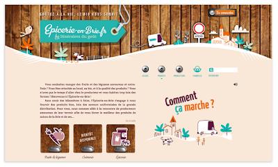 Clod illustrations Épicerie-en-Brie