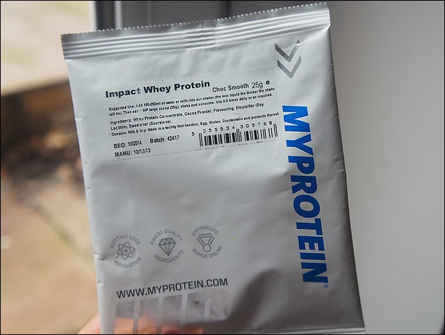 Impact Whey Protein Nutritional Info my Protein Impact Whey