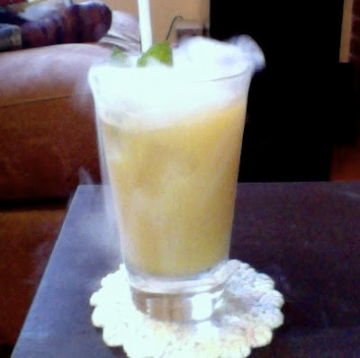 dry ice mai tai