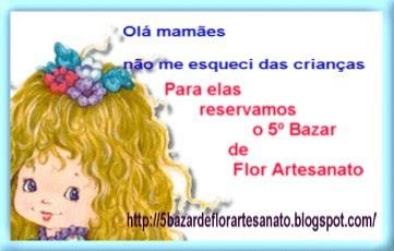 4º bazar  ALEGRANDO AS CRIANÇAS