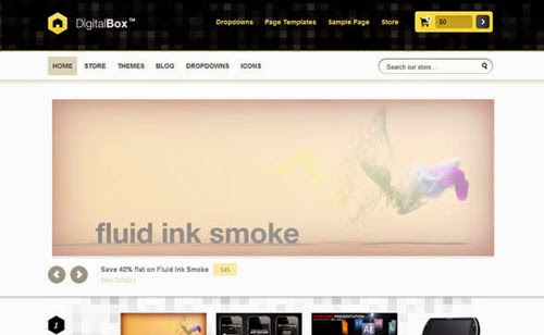 DigitalBox Templatic Wordpress Theme Version 1.0 free