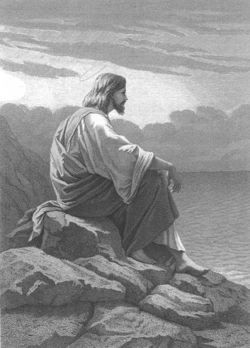 Jesus by the Sea - Alexandre Bida