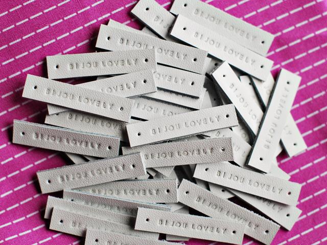 Bijou Lovely: new quilt labels. : handmade quilt labels - Adamdwight.com
